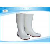 China Pharmaceutical Industrial Anti slip Worker Safety Rubber Rain Boots wholesale