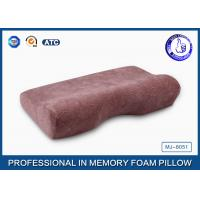 China Soft Slow Rebound PU Magnetic Memory Foam Pillow / Therapeutic Sleeping Pillow on sale