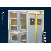 Buy cheap Laboratory Industrial Storage Cabinets , Two Section Hazardous Storage Cabinets from wholesalers