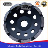 China 5 Diamond Grinding Wheels For Stone Grinding , Single Row Cup Wheel , Wet Grinding on sale