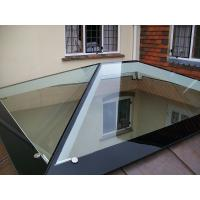 Heat Soaked Window Tempered Glass With Black Border Withstand 250℃