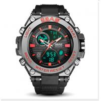 China Multifunctional Waterproof Watches For Men With LED Silicone Night Light Alarm Clock wholesale