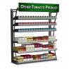 China 4FT LP 480 paquets de cigarette d'affichage de support de tabac de montages de cadre enduit de poudre wholesale