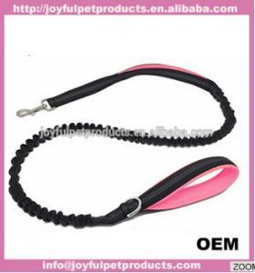 China FBA amazon warehouse comfortable neoprene padded dog bungee leash wholesale