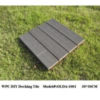 China WPC DIY Decking Tiles 30cm*30cm (OLDA-1001) wholesale