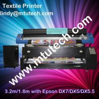 China Textile printer with Epson heads on sale