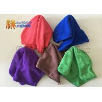 China Reusable Custom Printed Microfiber Cleaning Cloth For Auto Care / Electronics Cleaning on sale