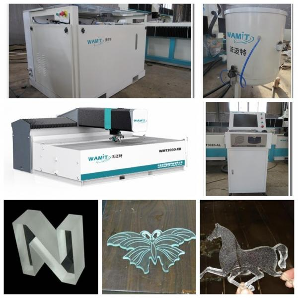 Quality glass 1000*2000mm 420Mpa CNC water jet cutting machine with CE for sale