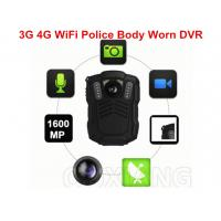 Buy cheap Police Officer 4G Body Worn Camera MP4 Video Format For Evidence Recording from wholesalers