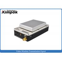 China 20km UAV Mini HD Wireless Transmitter , COFDM Video Transmitter and Receiver for Drones wholesale