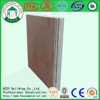 China HZSY lightweight fireproof eps cement sandwich panel factory in hubei wholesale
