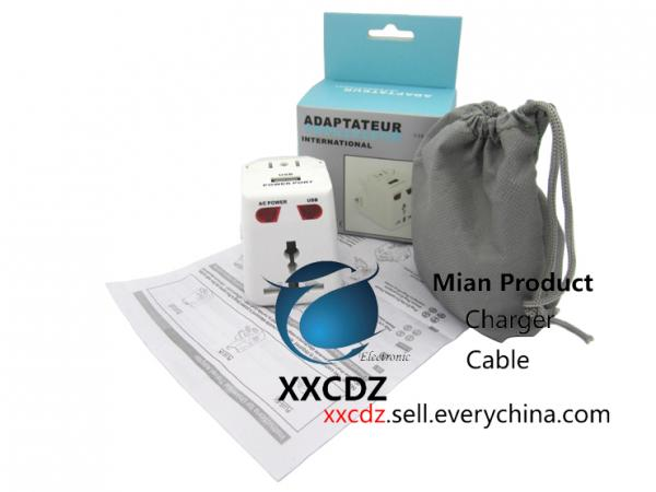 Quality Electrical Plugs Travel Socket Power Plug Power Convertor Universal Global Plug Adapter for sale