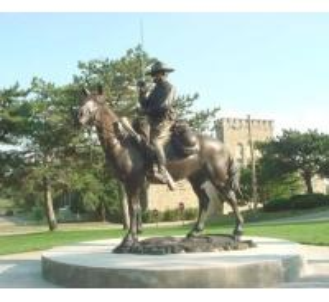 China International jumping horse bronze sculpture, brass horse statues, knight bronze figurines on sale