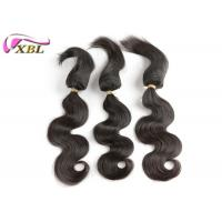China Can Colored Well 100% Human Virgin Brazilian Hair Braid in Hair Extensions #1b wholesale