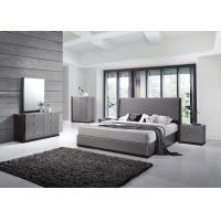 Buy cheap Bedroom furniture manufacturer/ Grey Glossy Painted Contemporary from wholesalers