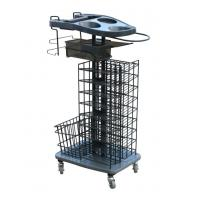 China Customized ABS Beauty Basket Salon Trolley Cart for Stylist Tools wholesale