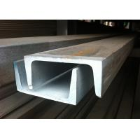 China 430 Stainless Steel Channel Cold Rolled With Well Mechanical Capacity wholesale