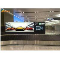China Multi Language Advertising LED Signs P6 1/8  scan Indoor Led Display Board wholesale