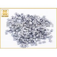 China Fine Grain Size Tungsten Carbide Saw Tips Fit Slitting Saw Cutters Long Life Span wholesale