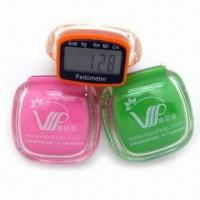 China Nice Style Acrylic Pedometers, Correct Count with IC wholesale