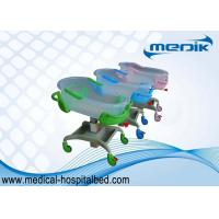 Mobile Hospital Baby Cuna , Transparent PP Crib ABS Side Rails