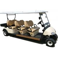 China CE Approval Multiple Purpose 6 Seats Electric Golf Cart Club Car With Plastic Cargo Box wholesale
