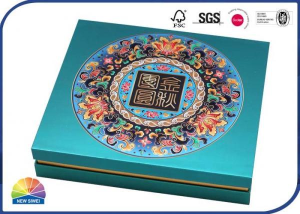 Quality Matt Laminate 1200gsm Grey Cardboard Chocolate Storage Paper Box for sale