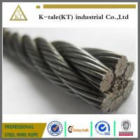 China elevator wire rope ,steel cable , galv.steel wire ropes on sale