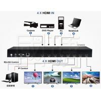 China HDMI Video Wall Controller Viewer Matrix Multi Switch Support 4K 30HZ wholesale