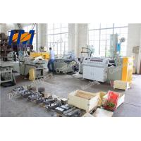 China Wood Plastic Composite WPC Profile Extrusion Line Double Screw Vented Type wholesale
