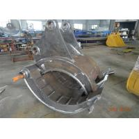 Quality Mechanical Type Heavy Duty Rock Grapples For Excavators Hitachi ZX330 for sale