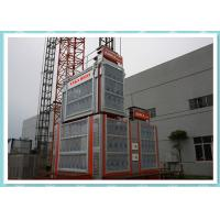 China Custom Cabin Safe Rack And Pinion Lift / Construction Material Hoist wholesale