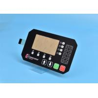 Buy cheap PET Custom Membrane Switch Panel With Multi Keys / Embossing Tactile Button from wholesalers