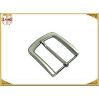 Pearl Nickel Brushed 1.5 Inch Metal Belt Buckle Perfect Design Die Casting Plating