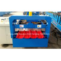 China 5.5Kw Metal Roofing Sheet Roll Forming Machine Electric Control Standing Seam wholesale