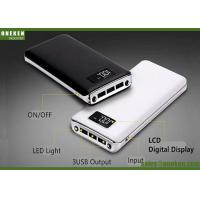 Buy cheap 8000mah LCD Display Power Bank , Mobile Rechargeable Portable Power Bank from wholesalers