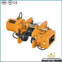 China electric chain hoist trolleys 3t 5t on sale