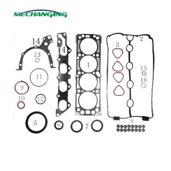 Quality L95 metal full set for CHEVROLET AVEO 1.4L engine gasket 93740012 for sale
