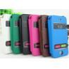 China caso de cuero del iphone 4, caso de cuero de la cubierta para iphone4 wholesale
