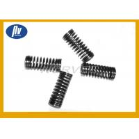 China Black Paint Long Compression Springs Left / Right Coils With Material Optional wholesale