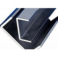 China 2B Surface 430 Stainless U Channel , C Channel Stainless Steel For Engineer Structure wholesale