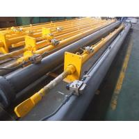 China Top denudate Radial Gate Long Hydraulic Cylinder 1200mm DNV Certification on sale
