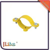 China Custom Hex Nut Cast Iron Pipe Clamps M8 Welding Clamp Yellow Coating wholesale
