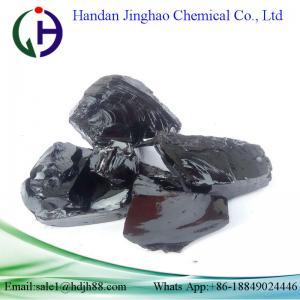 China Dark Solid Lumps Hard Pitch Powder High Density 130 - 138℃ Soften Point wholesale