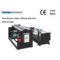 China PLC Controller Slitter And Rewinder Machine High Accuracy 240 m / min Slitting Speed wholesale