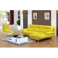China 612#;  modern L shape genuine leather sofa set, home furniture,office furniture, living room furniture, Africa sofa; wholesale