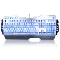 China PC Gaming Office Waterproof Mechanical Keyboard With LED Backlit 104 Keys wholesale