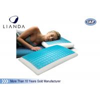 China Memory Foam & Hydraluxe Cooling Contour Pillow , gel cooled pillow wholesale