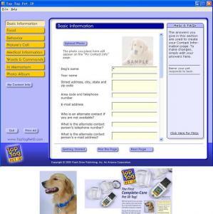China Pet Tag USB, Dog Tag USB, Pet ID Tag USB on sale