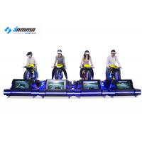China Theater VR Motorcycle Simulator High Headset Resolution 2160 X 1200 Smooth Images wholesale